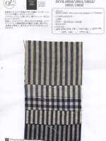 JAPAN LINEN widw stripe wide gingham C.C FINISH