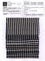 JAPAN LINEN wide stripe herringbone C.C Finish